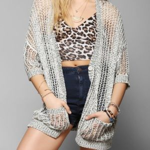 NEW Urban Outfitters Open Knit Cardigan